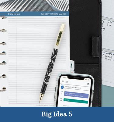 Big Idea 5: The Breakthrough Solution—Combining Paper Planning With Digital Technology