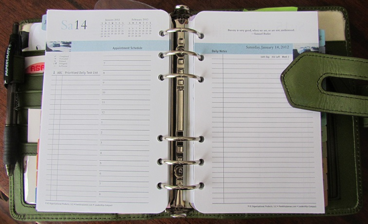 4 More Ways to Use a Planner Page