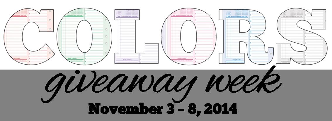 Colors giveaway week 3