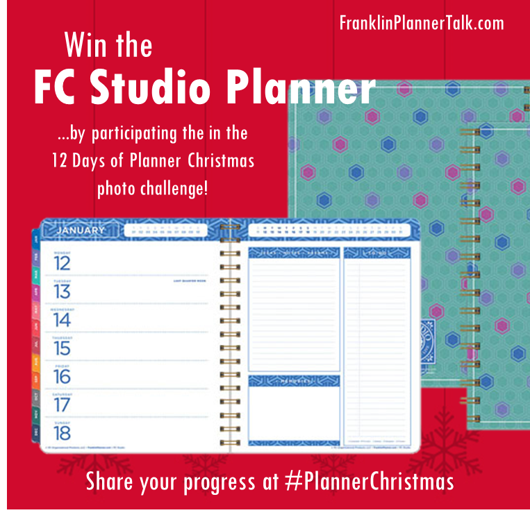 Planner Christmas prize