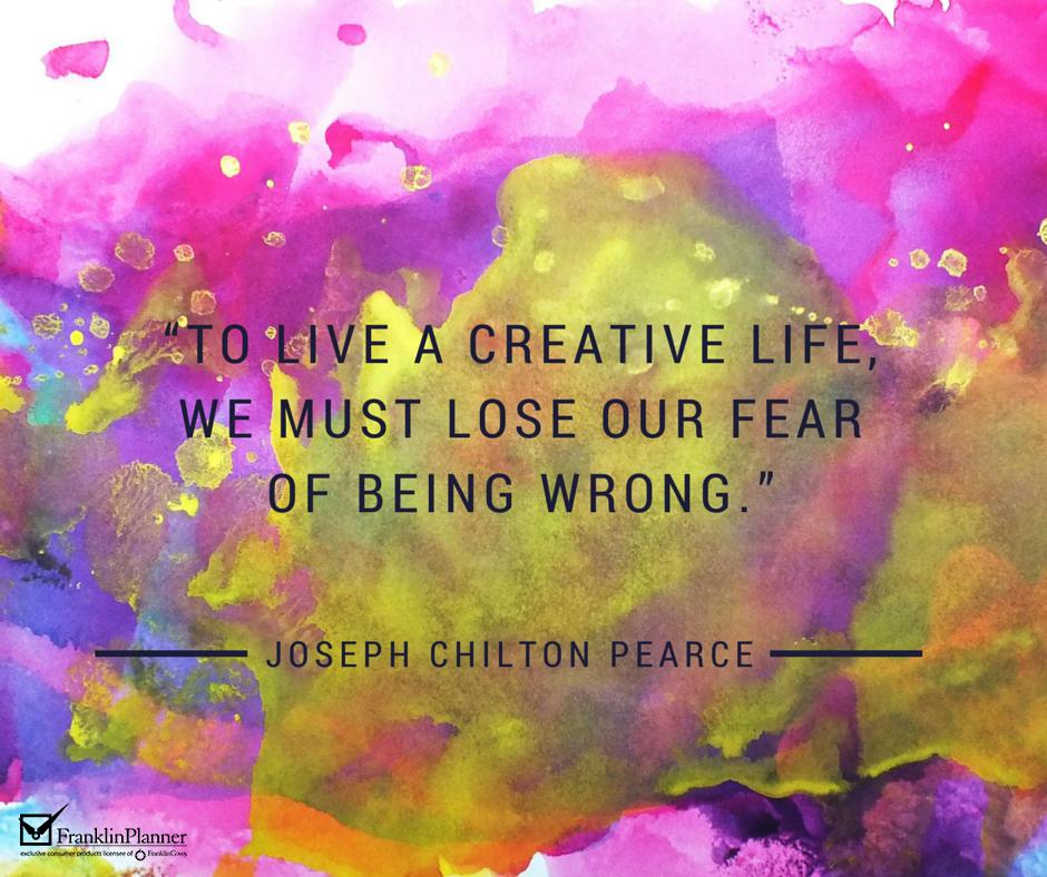 FP quote creative life
