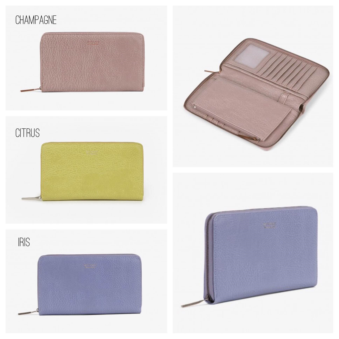 Trip wallet color options