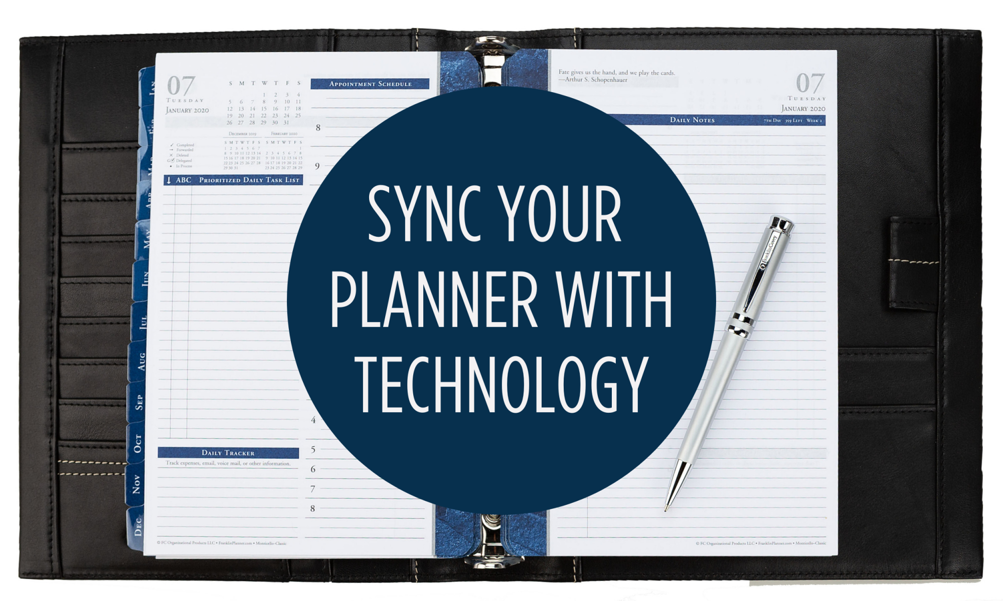 Sync your planner with technology