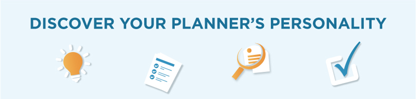 planner personality banner
