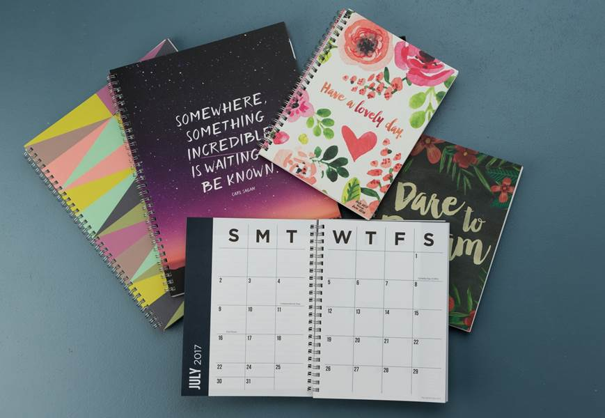 image of different planners