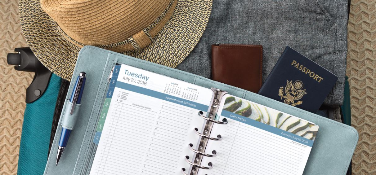 Planner and binder image