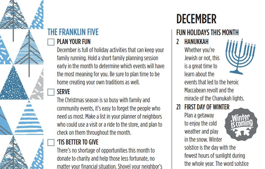 The Franklin Five. December