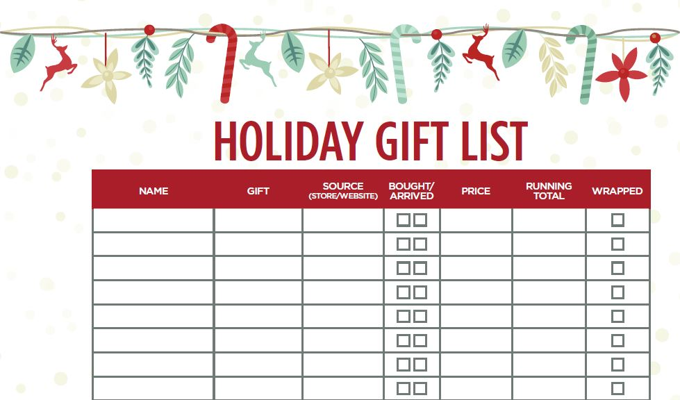 Hokiday Gift List Preview