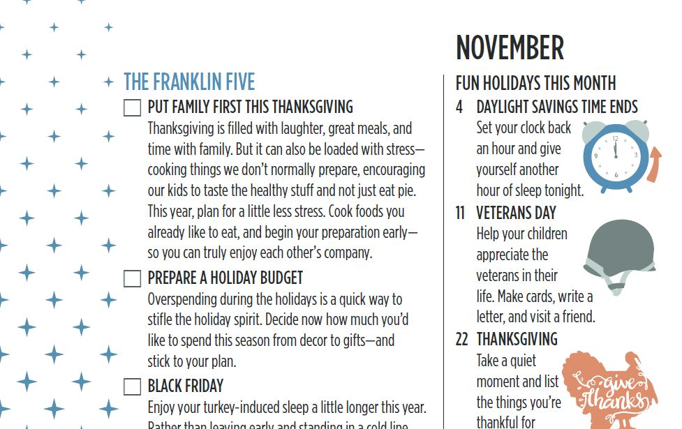 The Franklin Five November 2018