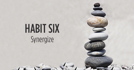Habit Six. Synergize.