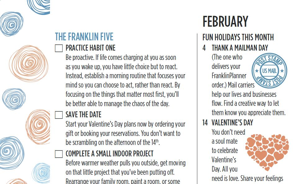 The Franklin Five February