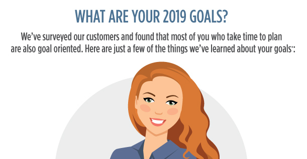 What are your 2019 goals?