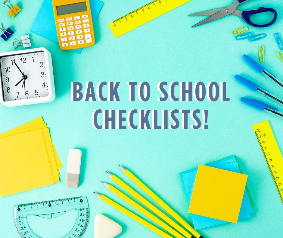 Back to School Checklists 2019 – FranklinPlanner Talk