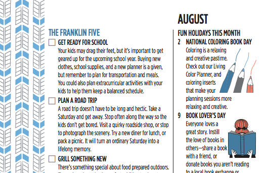 Franklin Five. August.