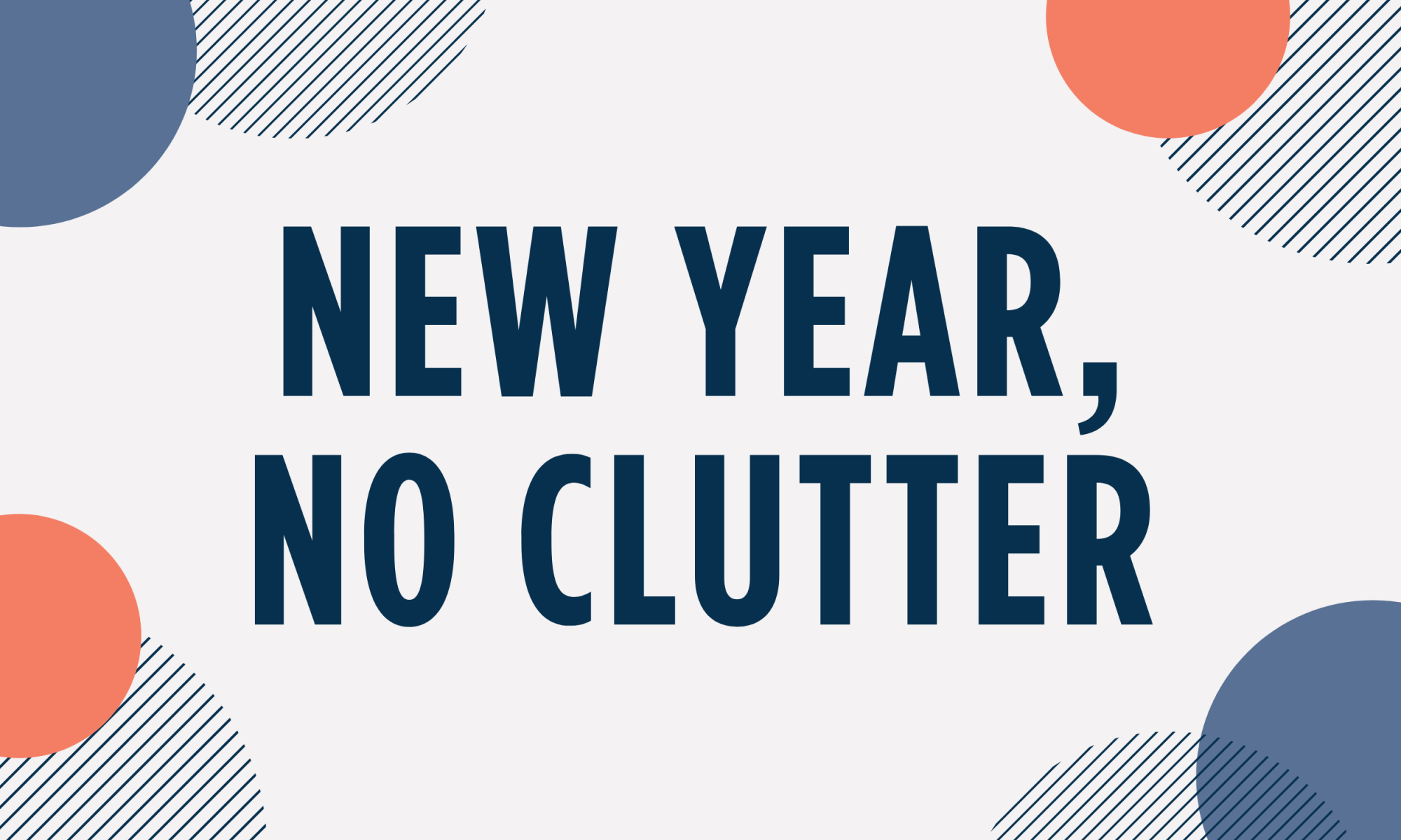 New Year No Clutter