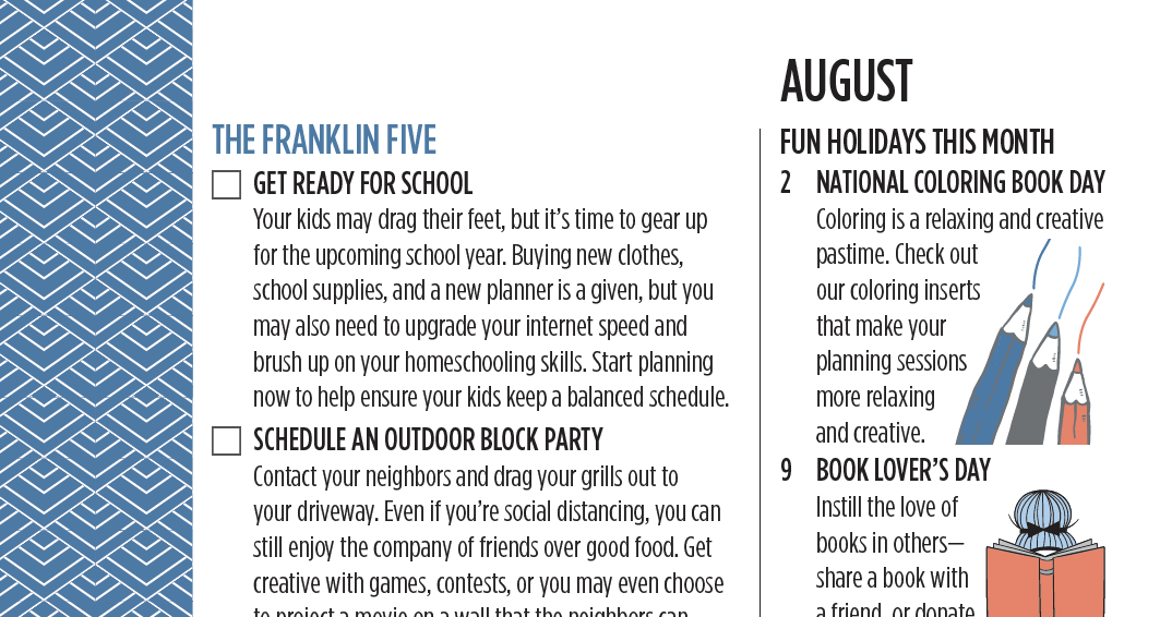 Franklin Five August