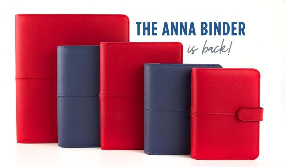 Anna binder is back
