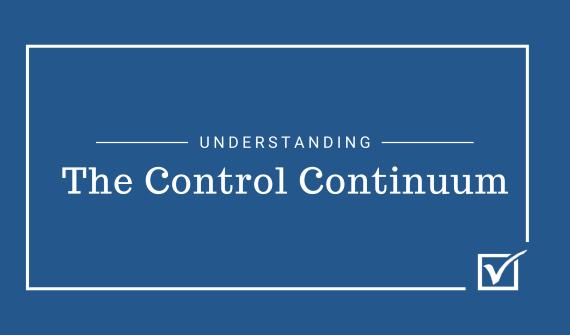 Understanding the control continummn