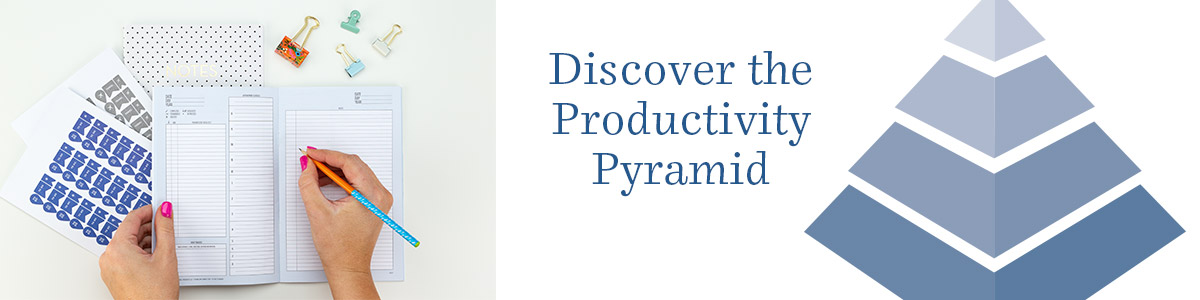 Discover the Productivity Pyramid