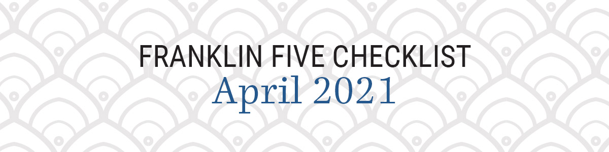 Franklin Five Checklist April 2021