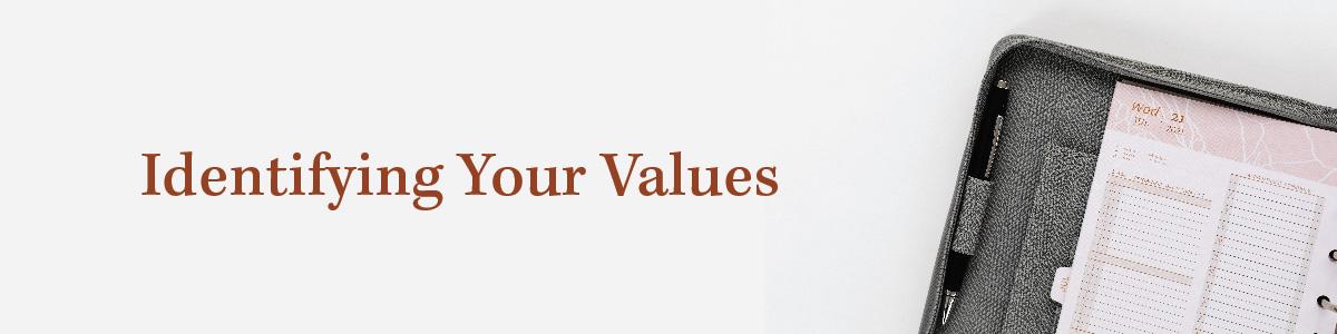 Identifying Values