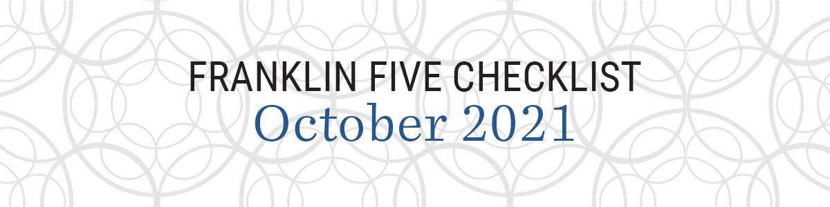 The Franklin Five: October 2021
